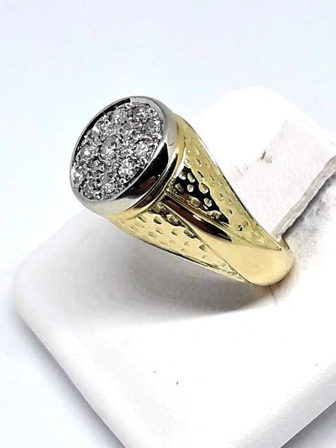 Ring - Goud, Witgoud - 0.3 ct - Diamant