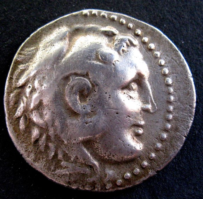 Grèce (ancienne) - Ionia, Miletos. AR Tetradrachm, in the name and types of Alexander III (the great) of Macedon, ca. 190/70-165/50 BC - Argent