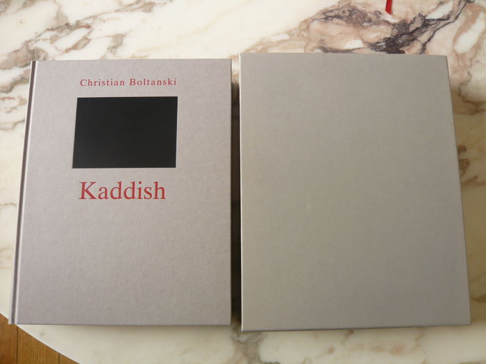 Christian Boltanski - Kaddish [One of 75 copies, signed with a unique photograph] - 1998