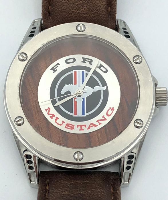"""Watch - PONI RUNNING """"FORD MUSTANG"""" - men's wristwatch - 1964-2013 (1 items)"""
