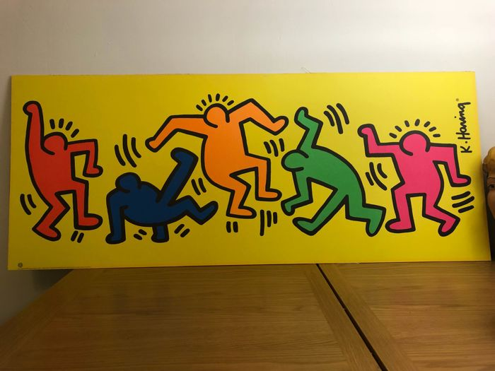 Keith Haring - Dancing People