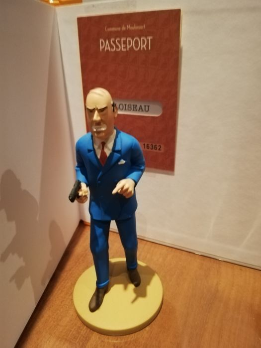 Igor Wagner The Official Collection Figurine Tintin Moulinsart 83