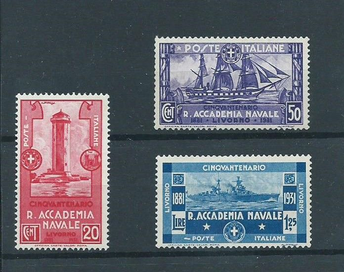 Italy 1931 - Royal Naval Academy of Livorno - Sassone S60