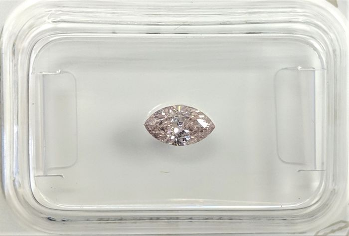 0.32 ct - Natural Fancy Diamond - Light Pink Color - SI2 - VG/VG