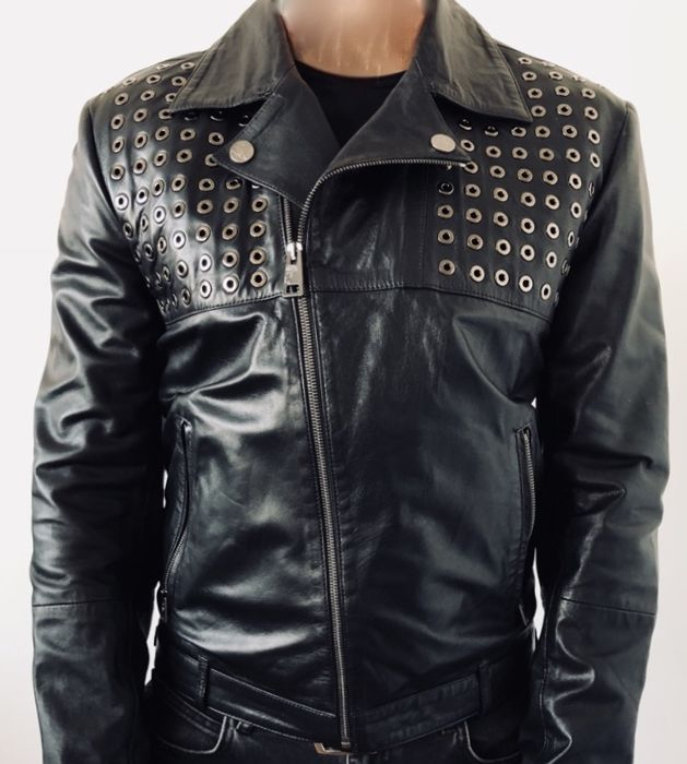 eee0560a9 Versace Collection - Leather jacket - Catawiki