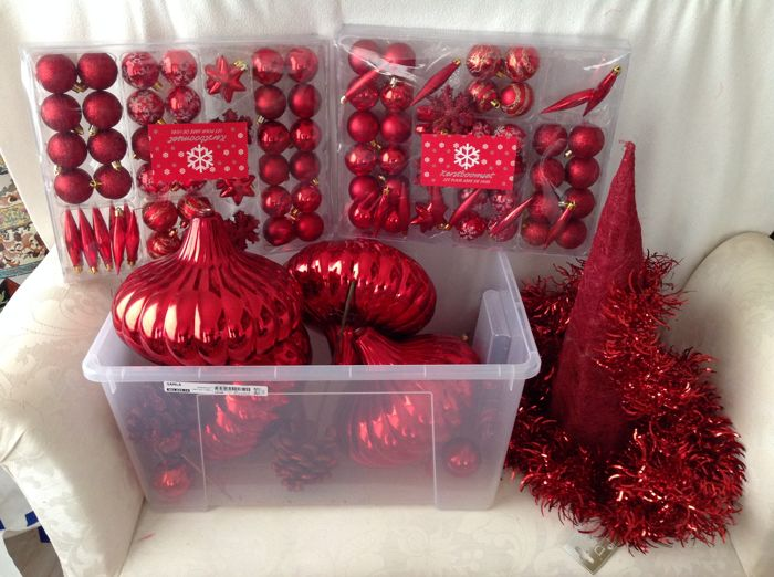 Alice Lund - Alice Lund - Christmas decorations - group of 10 - Glass