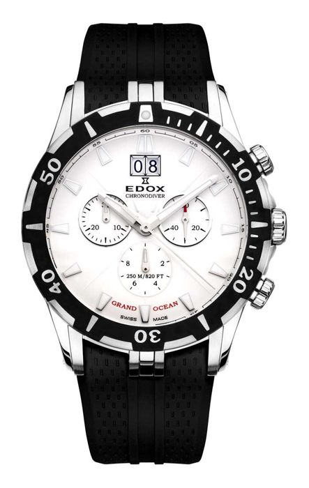 Edox - Grand Ocean Chronodiver Big Date - 10022 3 AIN - Men - 2011-present