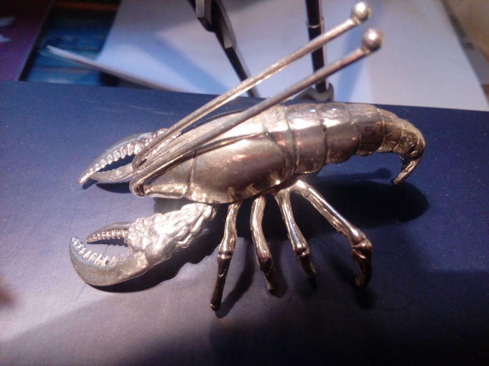 Lobster - 1 - Silver 800 - Italy -21st century
