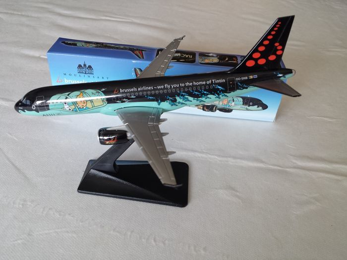 Kuifje, Tintin - Modelvliegtuig Moulinsart - Airbus A320 Rackham - Brussels Airlines OO-SNB - (2016)