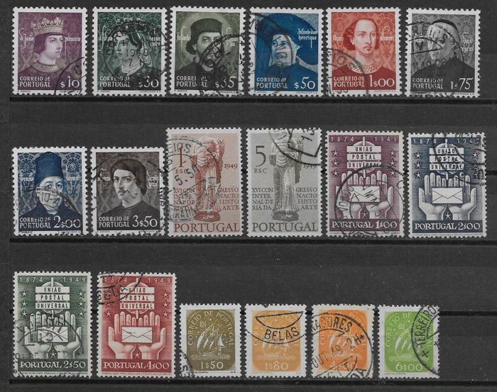 Portugal 1949/1961 - 12 series anuales