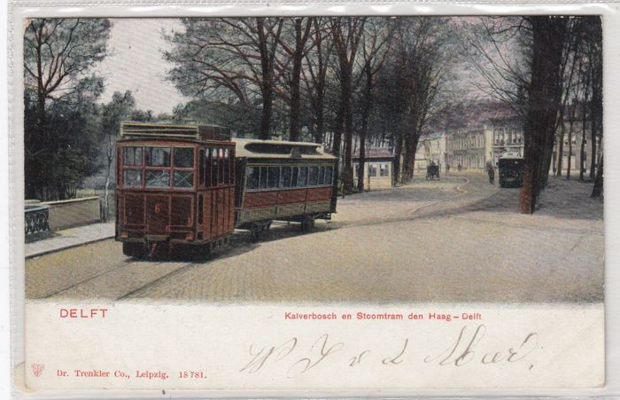 Delft, old and very old postcards, 81x
