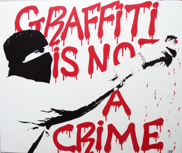 Ches - Graffiti is not a crime