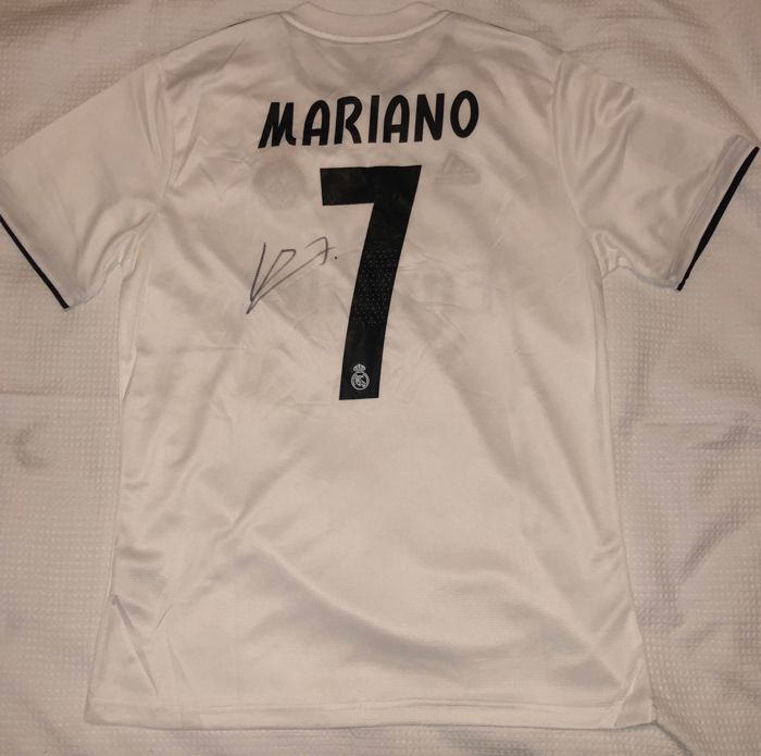 Signed Mariano Diaz Ream Madrid 18 19 Home Shirt Proof - Catawiki 63926cd38