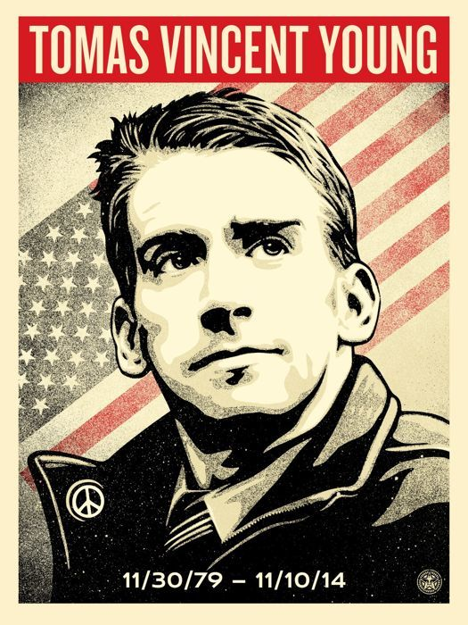 Shepard Fairey (OBEY) - Tomas Vincent Young