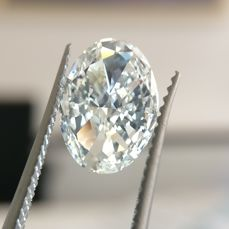 1 pcs Diamond - 2.01 ct - Oval - F - SI1