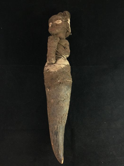 Old, Rare and Sombre Voodoo Doll of the Igbo, Nigeria