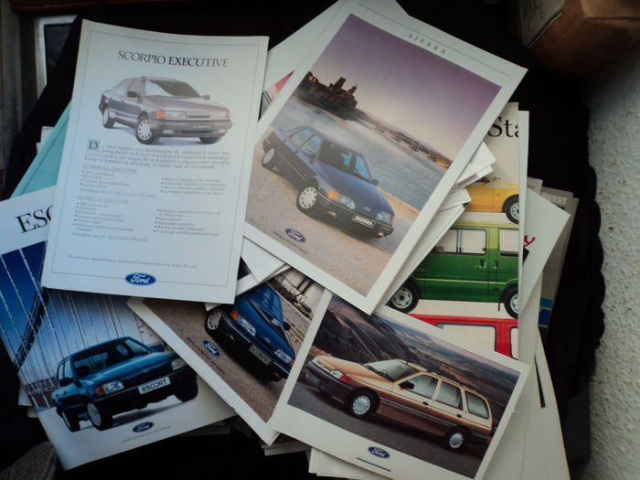 Brochures / catalogues - Ford - 1987-1999 (125 items)