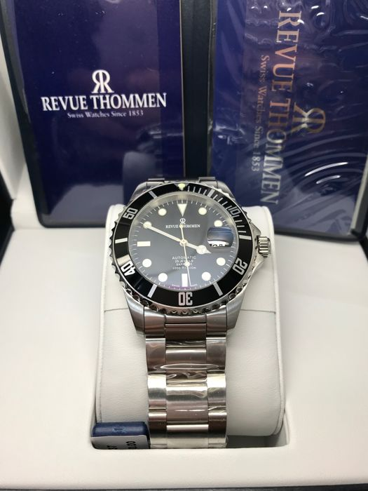 Revue Thommen - Diver Automatic ETA 28 - 17571.2137 - Men - 2011-present