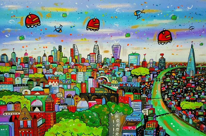 Maria Luisa Azzini - Unique Beautiful Parallel London