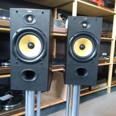 B&W 601 (Bower and Wilkins) award winner and truly very nice sounding in near mint condition