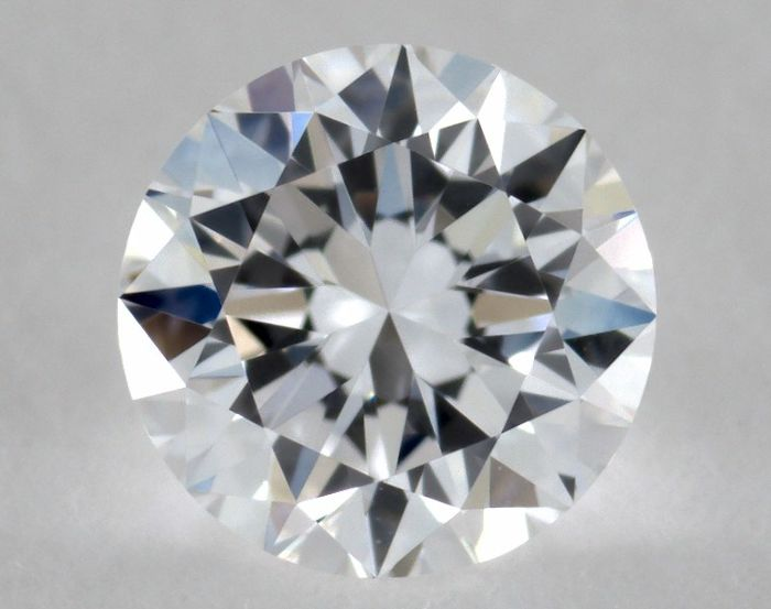 Round 0.18 ct diamond, GIA certified and engraved, colour E, clarity IF, 'no reserve price'