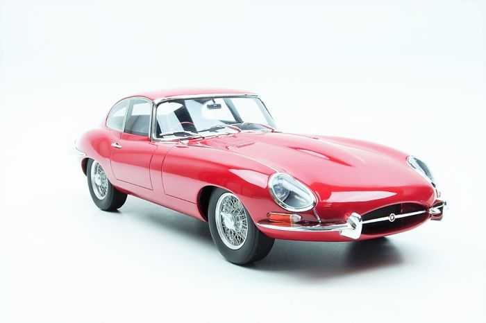GT Spirit - 1:12 - Jaguar E-Type Coupe 1961 Carman Red