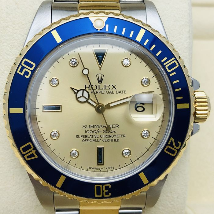 Rolex - Submariner Date Sultan - Ref. 16613 - Men - 1991