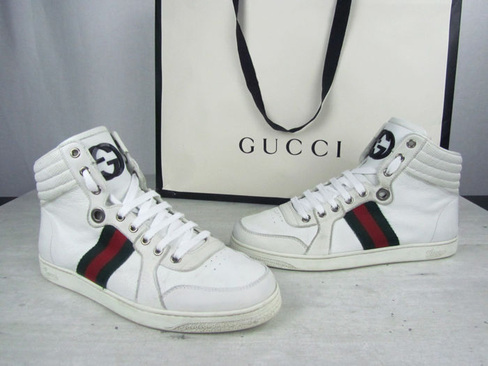 6bd03cbf2fd Gucci High-top Trainers - Catawiki