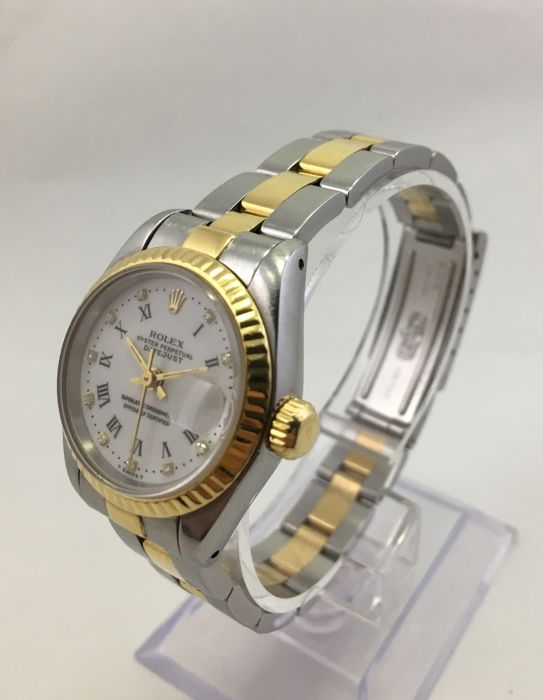 Rolex - Oyster Perpetual Datejust  - Ref. 69173 - Donna - 1990