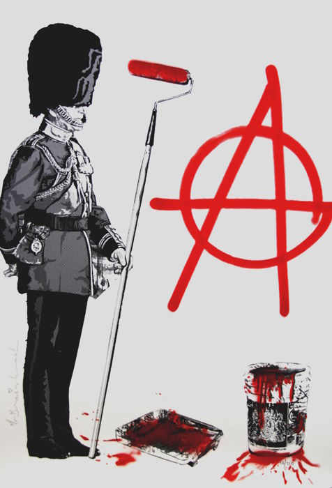 Mr Brainwash  -  Anarchy Soldier