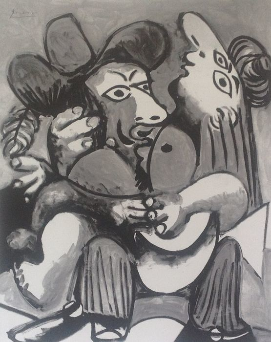Pablo Picasso (after) - Couple
