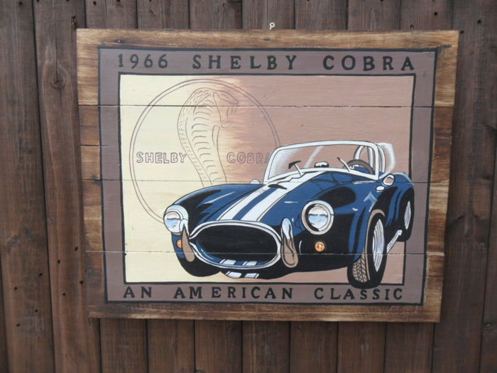 Picture - Cobra Hand Painted Wall Art Advertising Sign - 2014 (1 items)