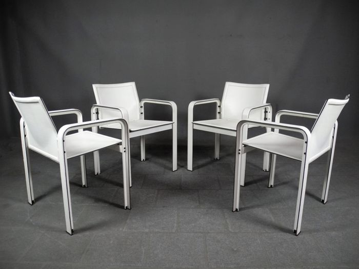 Jacques Touissant and Patrizia Angeloni - Matteograssi - Armchair Golfo Dei Poeti - Set of 4