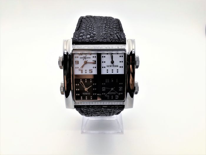 "Kriss Kador - 4 Tempi World Time Diamond - kxk4 "" NO RESERVE PRICE "" - Hombre - 2011 - actualidad"