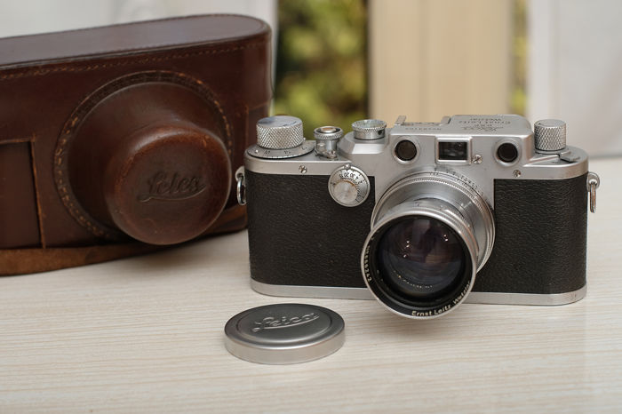 Leica IIIc with Leitz Summitar 5cm 1:2