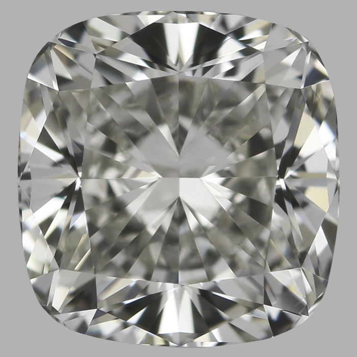 0.60ct Square Cushion Modified Brilliant diamond  I VVS2 with IGI Certificate - #3077