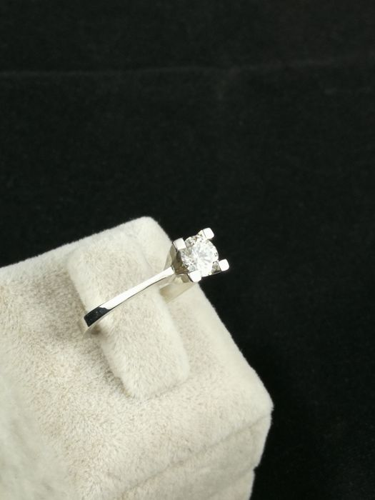 Or - Bague - 0.45 ct Diamant