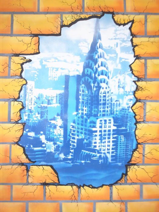Maxime Blachere - New York in the Wall