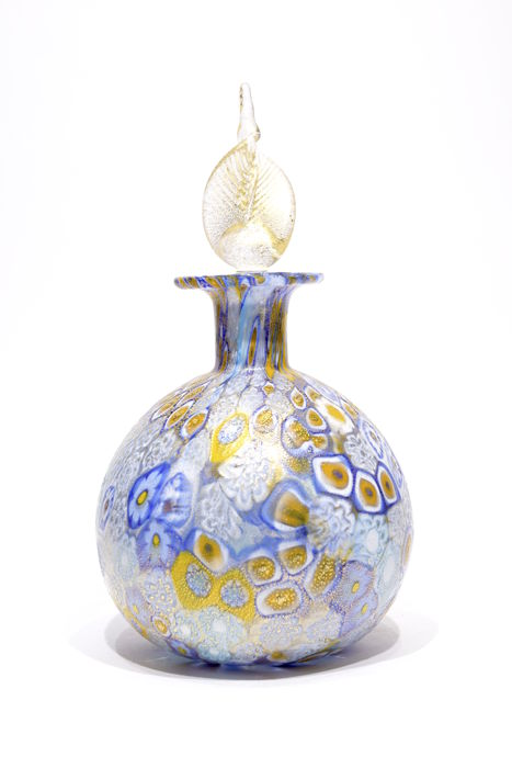 Gabriele Urban ( Murano ) - Murrine Bottle and Gold Leaf