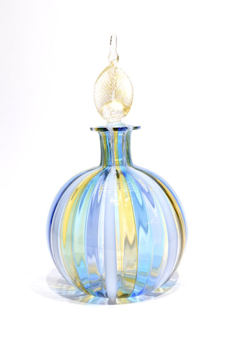 Gabriele Urban ( Murano ) - Multicolored tube bottle