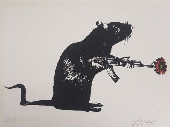 Blek le Rat - The Warrior (special edition)
