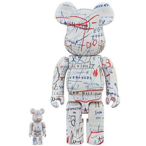 Jean-Michel Basquiat  - Medicom 400% + 100% / Articulated Figures