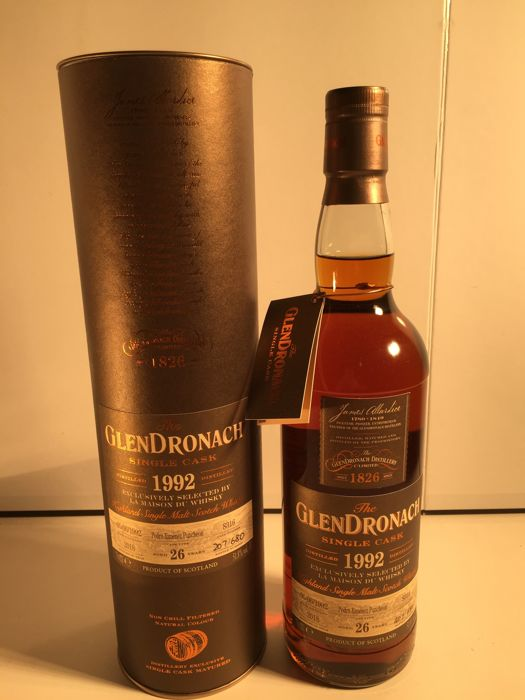 Glendronach 1992 26 years old for LMdW - 0.7 Ltr