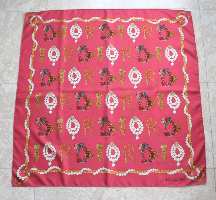Christian Dior - foulard - Dior Jewels beauty - Scarf - Catawiki 319f0bc3f61