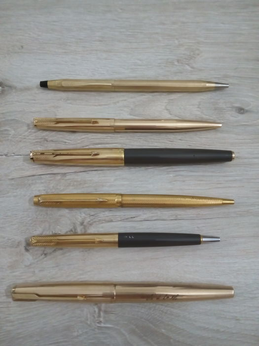 Cross - fountain pens and ballpoint pens - 5 parker - 1 of 6 Cross