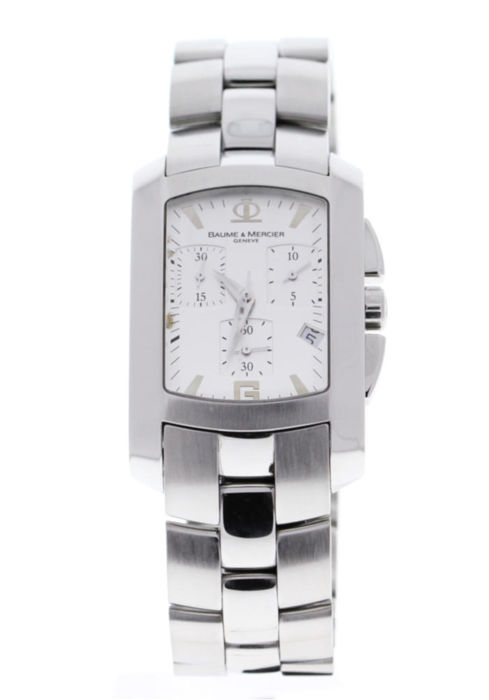 Baume & Mercier - Hampton Milleis XL Chronograph Quartz 45.5 X 30 mm - M0A08444 - Unisex - 2006