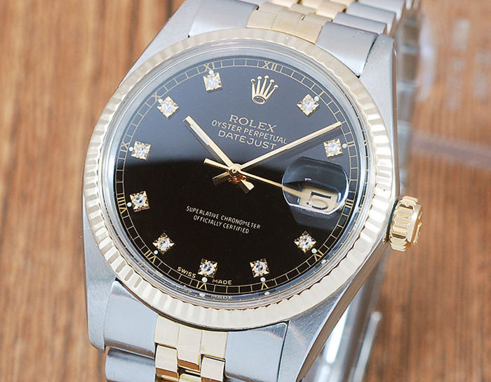 Rolex -  Oyster Perpetual DateJust  - 16013 - Uomo - 1980-1989