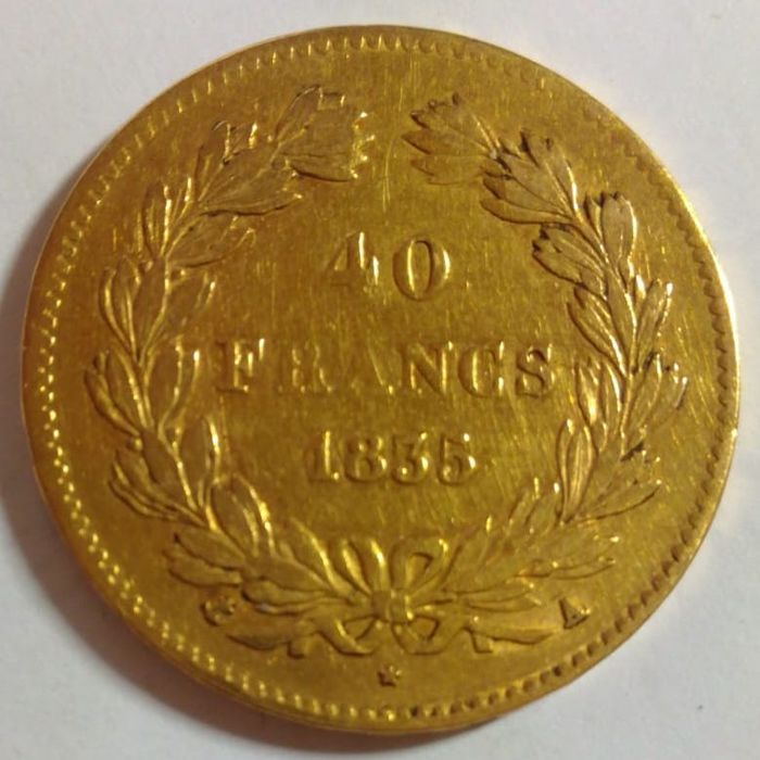 40 Francs 1835-A Louis Philippe I - Or
