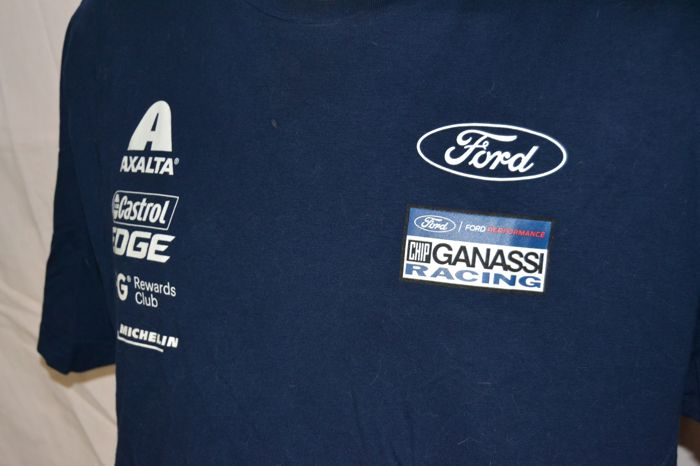 Vêtements - 2x Chip Ganassi Racing Ford Le Mans Crew Shirt - 2018 ... 7120afa6a3ef
