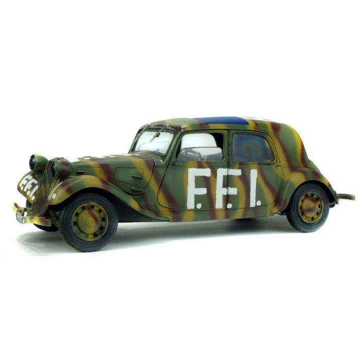 Solido - 1:18 - Citroen Traction - French Forces of the Interior (FFI) - 1944